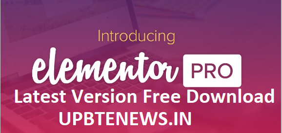 Elementor Pro Free Download With Pro Templates
